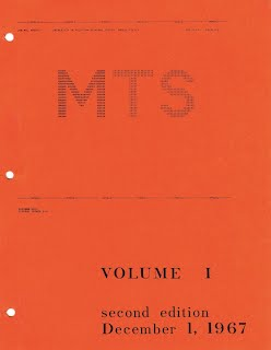 MTS Volume I Cover