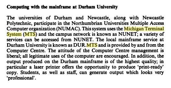 "A paragraph from page 322 of ""History and Computing"""